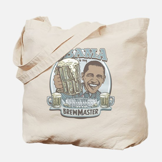 Obama Brewmaster Tote Bag