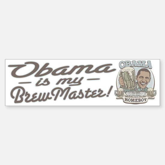 Obama Brewmaster Bumper Bumper Bumper Sticker