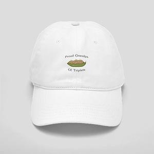 Grandpa Of Triplets Cap