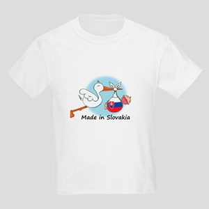 Stork Baby Slovakia Kids Light T-Shirt