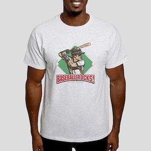 Baseball Rocks Diamond Light T-Shirt