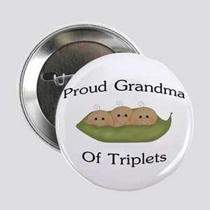 "Grandma Of Triplets 2.25"" Button"