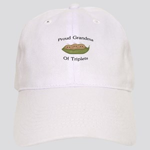 Grandma Of Triplets Cap