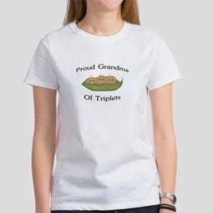 Grandma Of Triplets Women's T-Shirt