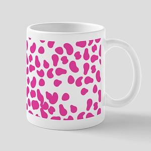 Pink Speckled Spots Mugs