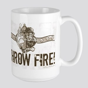 I Throw Fire Large Mug
