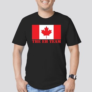 The Eh Team Men's Fitted T-Shirt (dark)