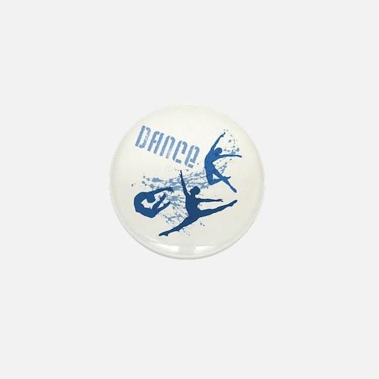 Dance (blue) Mini Button