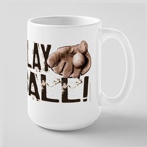 Play Ball Baseball Large Mug