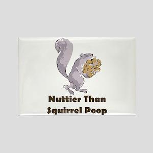 Squirrel Poop Rectangle Magnet