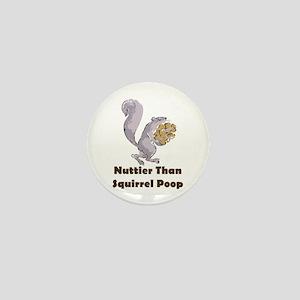 Squirrel Poop Mini Button