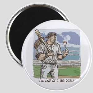 Big Deal Baseball Magnet