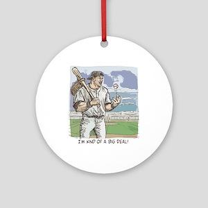 Big Deal Baseball Ornament (Round)