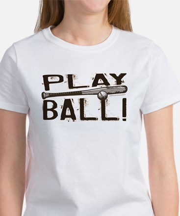 Play Ball Women's T-Shirt