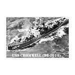 USS CROMWELL Mini Poster Print