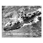 USS CROMWELL Small Poster