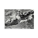 USS CROMWELL Rectangle Magnet (100 pack)