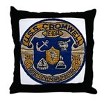 USS CROMWELL Throw Pillow