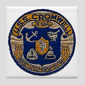 USS CROMWELL Tile Coaster