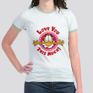 Love You This Much! Jr. Ringer T-Shirt