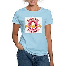 Love You This Much! Women's Light T-Shirt