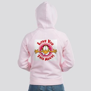 Love You This Much! Women's Zip Hoodie