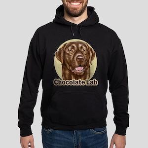 Chocolate Lab Hoodie (dark)