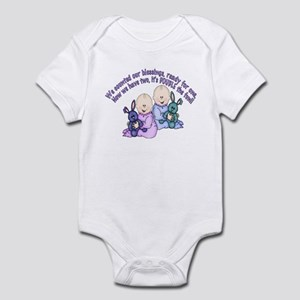 Double Fun Twins Infant Bodysuit