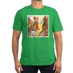 ALICE & THE MOCK TURTLE Men's Fitted T-Shirt (dark