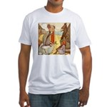 ALICE & THE MOCK TURTLE Fitted T-Shirt