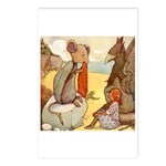 ALICE & THE MOCK TURTLE Postcards (Package of 8)