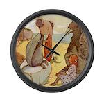 ALICE & THE MOCK TURTLE Large Wall Clock