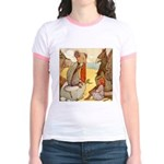 ALICE & THE MOCK TURTLE Jr. Ringer T-Shirt