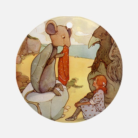 ALICE & THE MOCK TURTLE Ornament (Round)