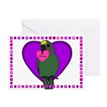 Meyers Parrot Valentines (Pk of 10)