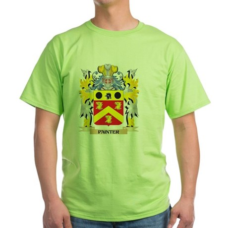 Painter Family Crest - Coat of Arms T-Shirt
