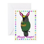 Meyers Parrot Easter Greeting Cards (Pk of 10)