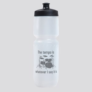 The tempo is what I say (TS-B) Sports Bottle