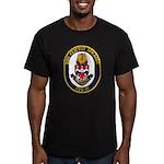 USS CLIFTON SPRAGUE Men's Fitted T-Shirt (dark)