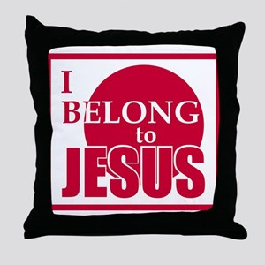 I belong to Jesus Throw Pillow