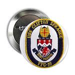"""USS CLIFTON SPRAGUE 2.25"""" Button (10 pack)"""