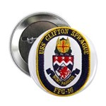 "USS CLIFTON SPRAGUE 2.25"" Button"