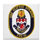 USS CLIFTON SPRAGUE Tile Coaster