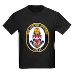 USS CLIFTON SPRAGUE Kids Dark T-Shirt