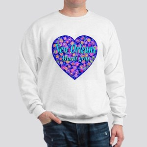 New Orleans Mardi gras Sweatshirt