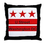 More U Street Throw Pillow