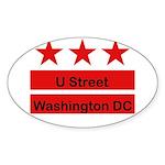 More U Street Sticker (Oval 50 pk)
