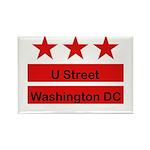 More U Street Rectangle Magnet (10 pack)