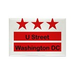 More U Street Rectangle Magnet