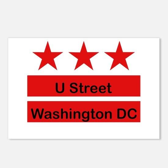More U Street Postcards (Package of 8)